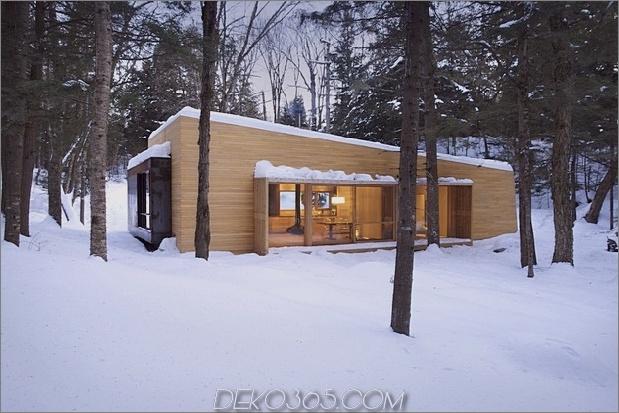 Waldhütte mit warmen Holzbrettern dominiert 1 Dachabhang thumb 630x420 30760 Waldhütte mit Sauna, Sunken Hot Tub