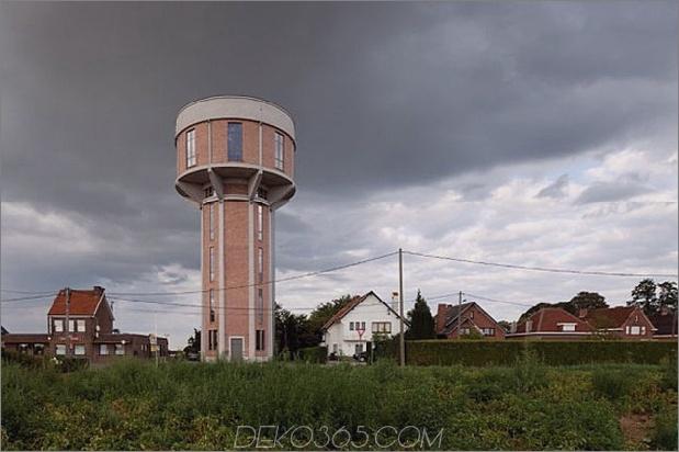 Wasserturm umgebaute private Residenz 1 außerhalb des Tages thumb 630x419 31145 Wasserturm in eine private Residenz umgewandelt