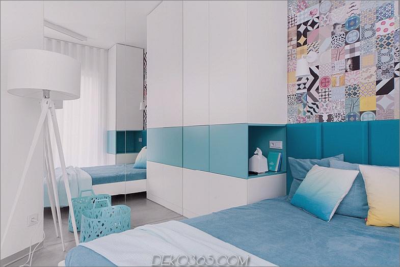 Cooles Schlafzimmerdesign