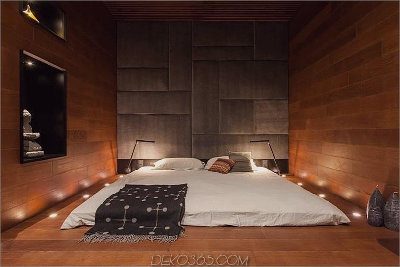 Schlafzimmer im thailändischen Stil