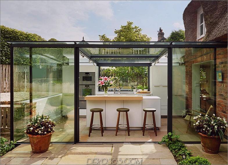 Glasküchenerweiterung