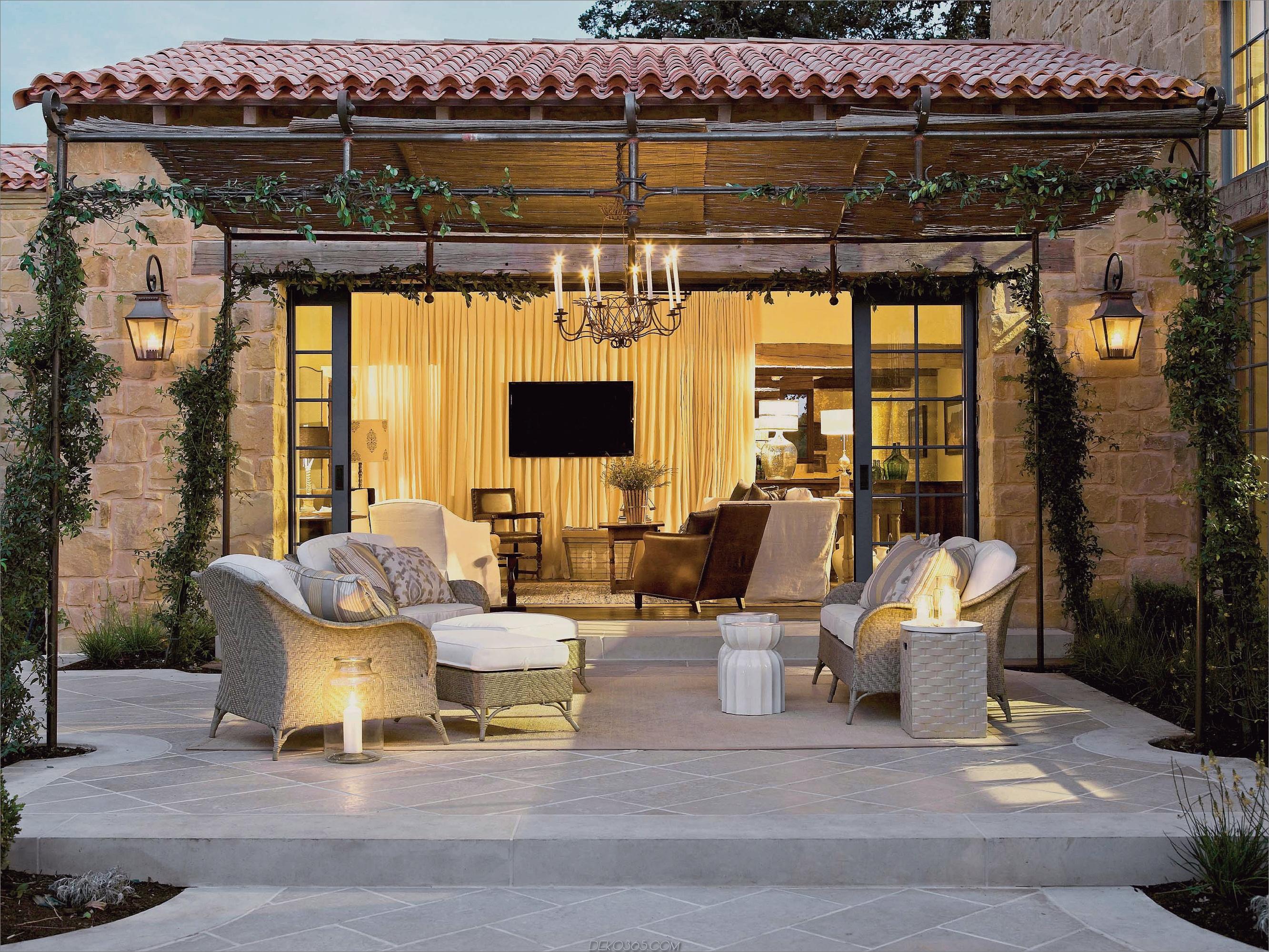 Platz im Freien mit Überdachung Wichtige Dinge, die zu beachten sind, bevor Sie Ihren Außenbereich entwerfen