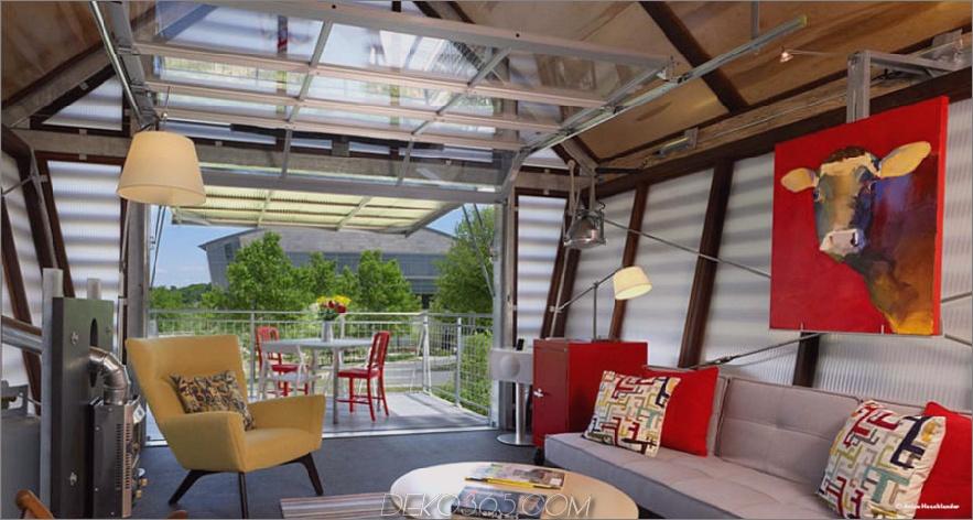 Broadhurst Architects Wohnzimmer und Terrasse 900x480 Würden Sie in einem kleinen Haus wohnen?
