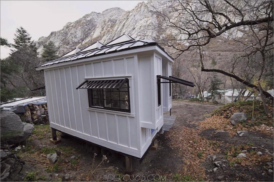 Sandy kleines Haus außen