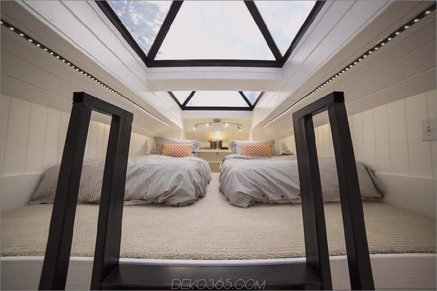 Sandy kleines Haus Schlafzimmer