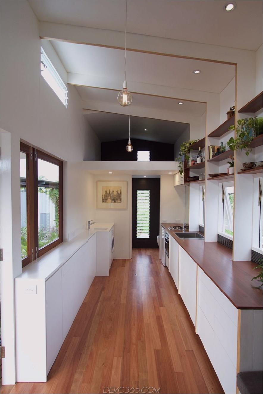 Winzige Hausküche der Tiny House Company