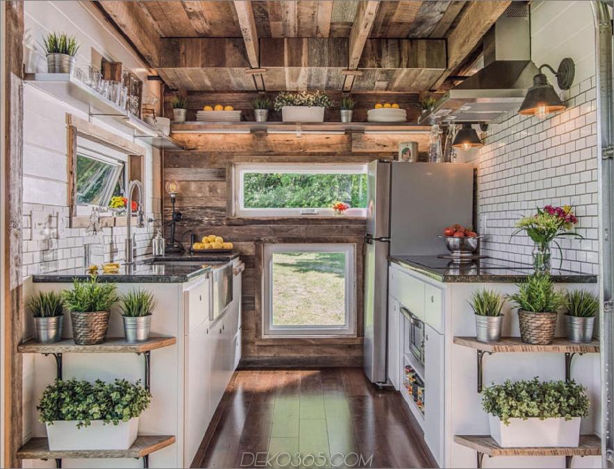 Alpha winzige Hausküche