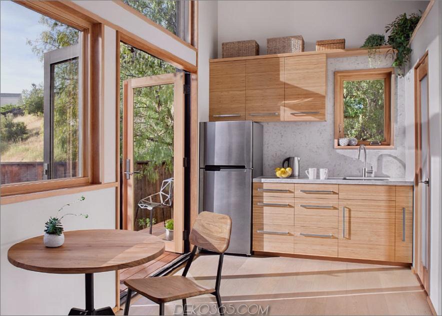 Flat-Pack-Hausküche und Essbereich