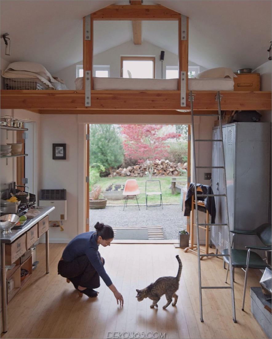 Garage Hausinnenraum