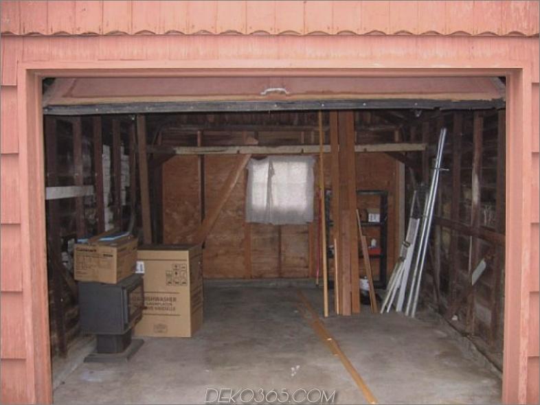 Garage vor