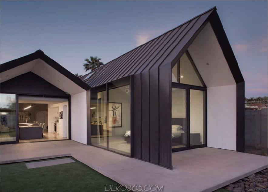 Moderne Erweiterung fügt zwei offene Räume hinzu