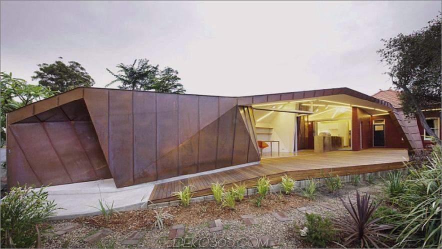 Kleine Cottage-Erweiterung