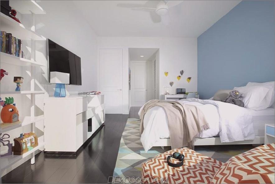 Zeitgenössische Kinderzimmer-Designs, die cool und stilvoll sind