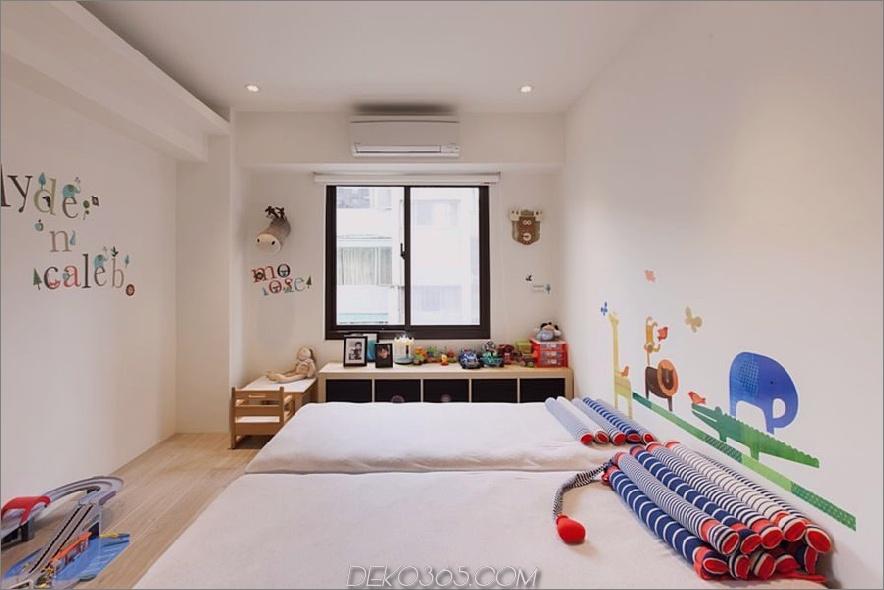Kinderzimmer in einer modernen Wohnung