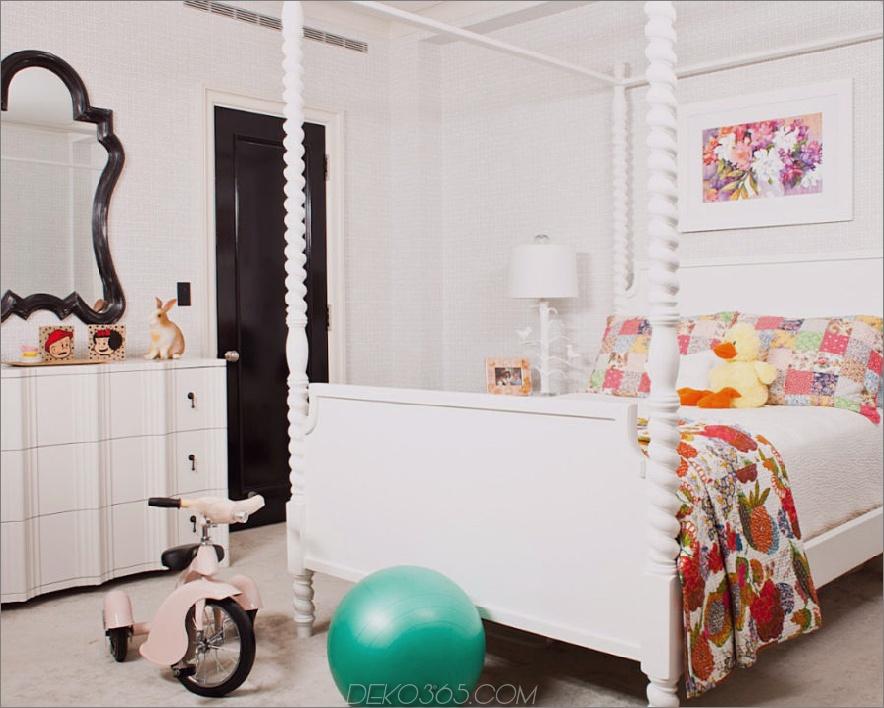 Zeitgenössische Kinderzimmergestaltung