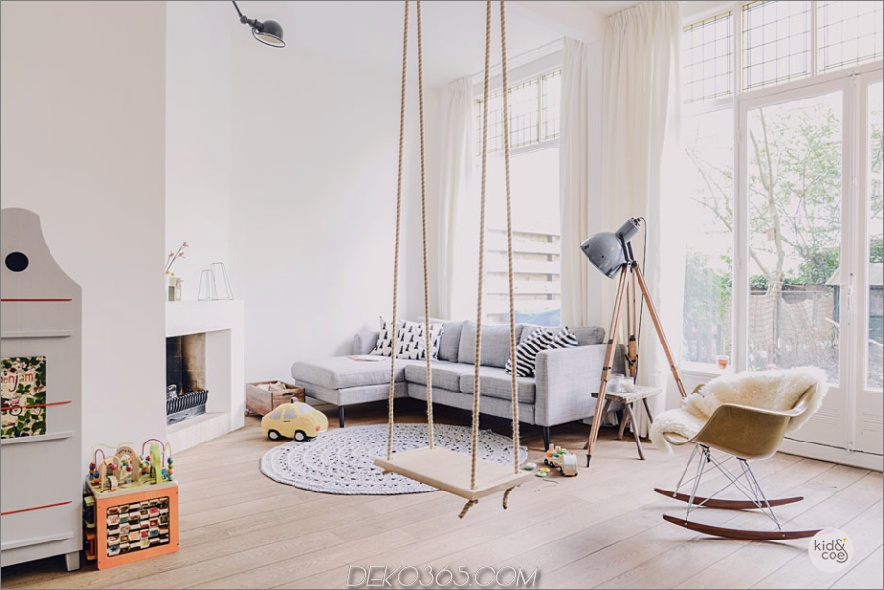 Das Kinderzimmer der Wouwermanstraat Residence