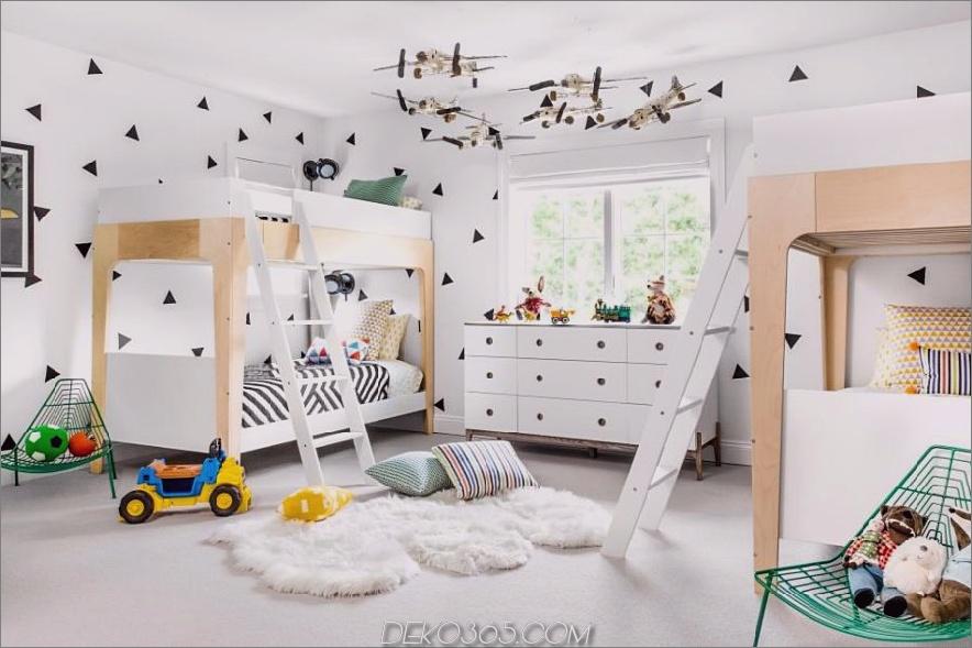 Geteiltes Kinderzimmer von Chango und Co.
