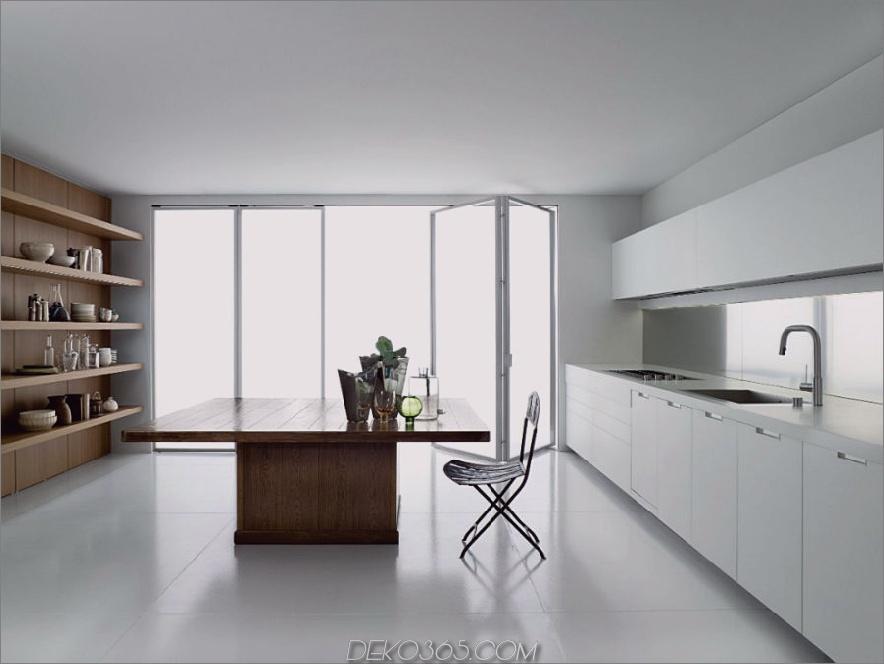 Großer breiter Kücheninsel Tisch WK6 von Boffi