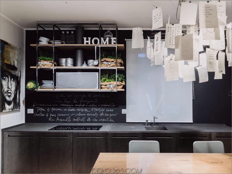D90 Basaltküche von TM Italia Cucine