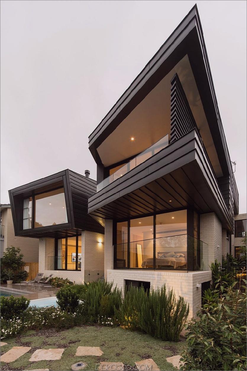 Balmoral House von Fox Johnston Architects Zeitgenössisches Balmoral House im grünen australischen Paradies