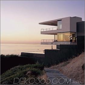 Modernes Küstenhaus für Familienleben, Unterhaltung und Ausblick