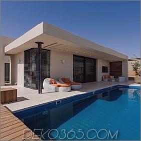 Einfaches Pool-Familienheim in Israel