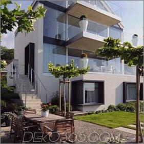Cottage Style Houses - cooles, zeitgenössisches Schweizer Chalet