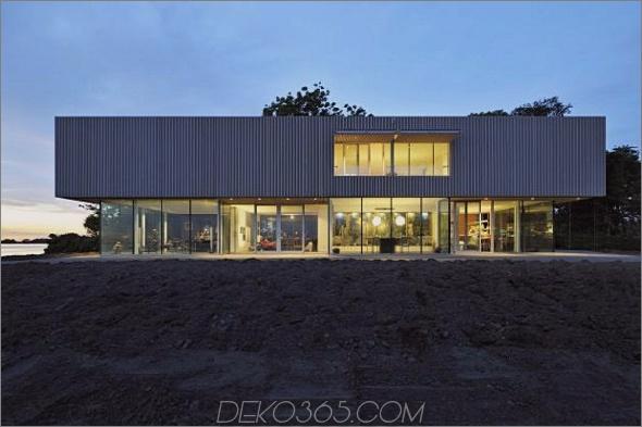 villa roling 4 Zeitgenössisches Seehaus vom niederländischen Architekten Paul de Ruiter