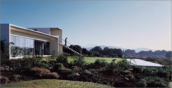 8 al cubo house 1 Zeitgenössisches Haus für Beton, Glas und Stahl in der Architekturreihe von Chile