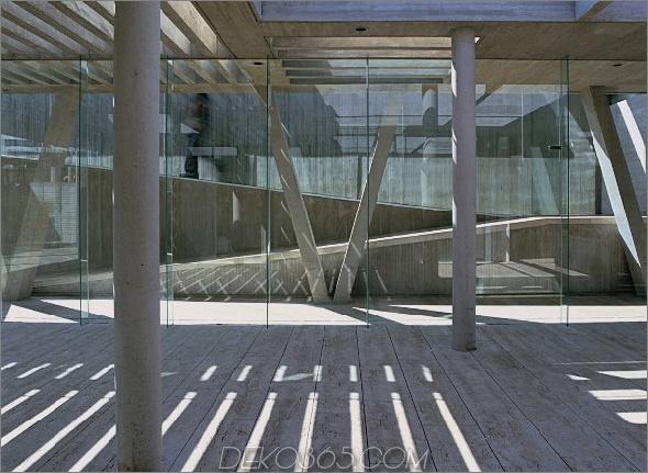 8 al cubo house 2 Zeitgenössisches Haus aus Beton, Glas und Stahl in der Architekturreihe von Chile