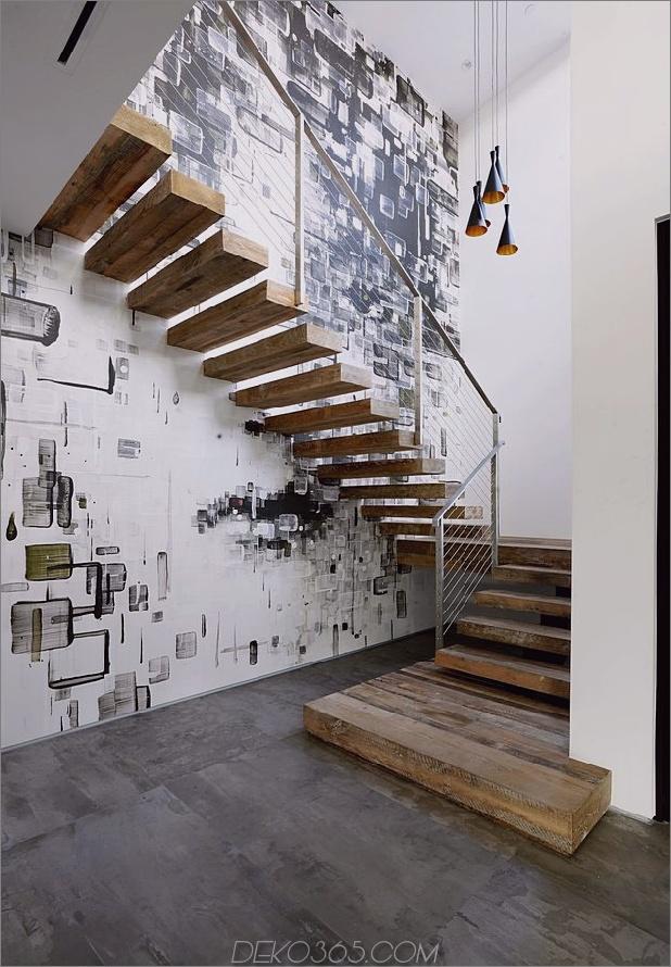 Zeitgenössisches Haus mit Pool hat Schwarz-Weiß-Interieur_5c598f7c619fc.jpg