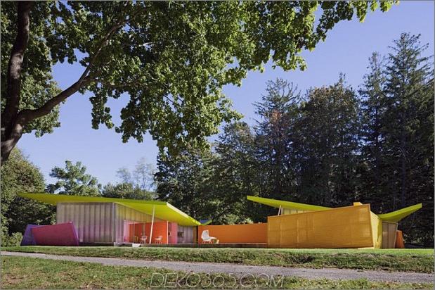 zeitgenössisches kubistisches Haus in New York Natur 2 thumb 630x419 10312 Zeitgenössisches kubistisches Haus in New York