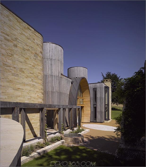 Modernes Landhaus mit ovalem Eingang und Innenverglasung 2 thumb 630x720 23602 Modernes Landhaus mit ovalem Eingang und Innenverglasung