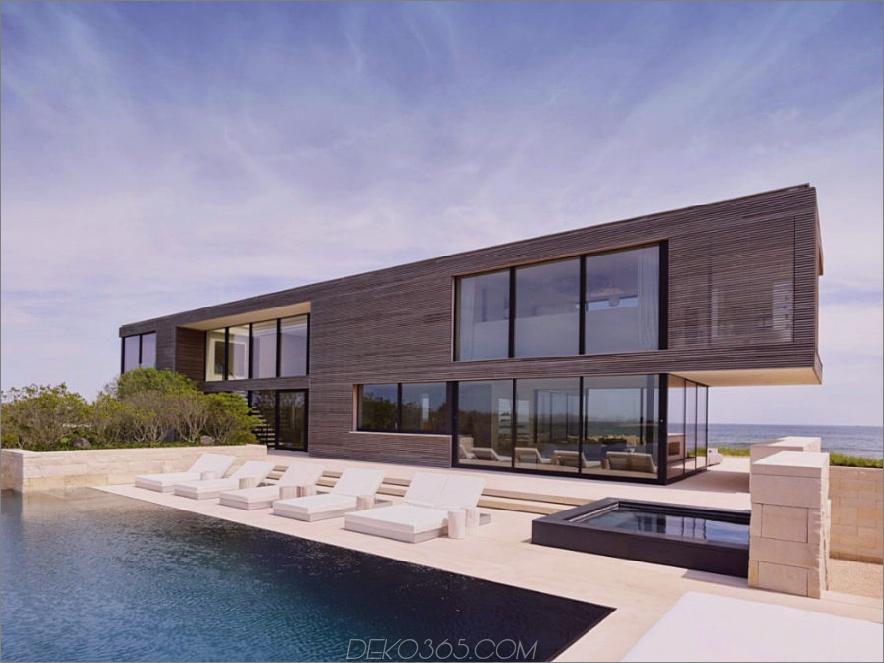 Zeitgenössisches Haus in Long Island 900x674 Zeitgenössisches Long Island House mit Blick auf den Ozean