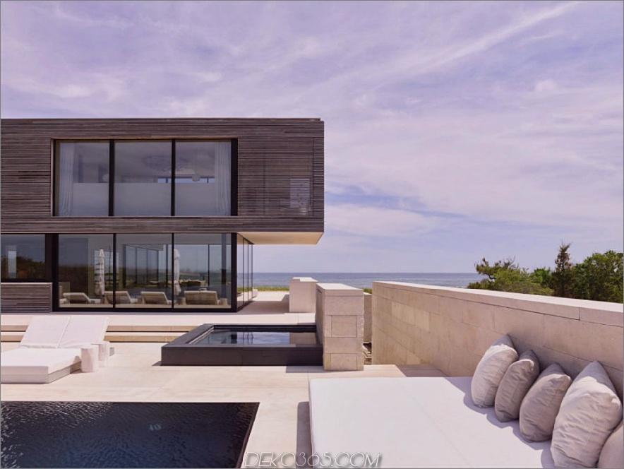 Outdoor-Lounge Raum voller Wasser Features 900x675 Modernes Long Island House mit Blick auf den Ozean