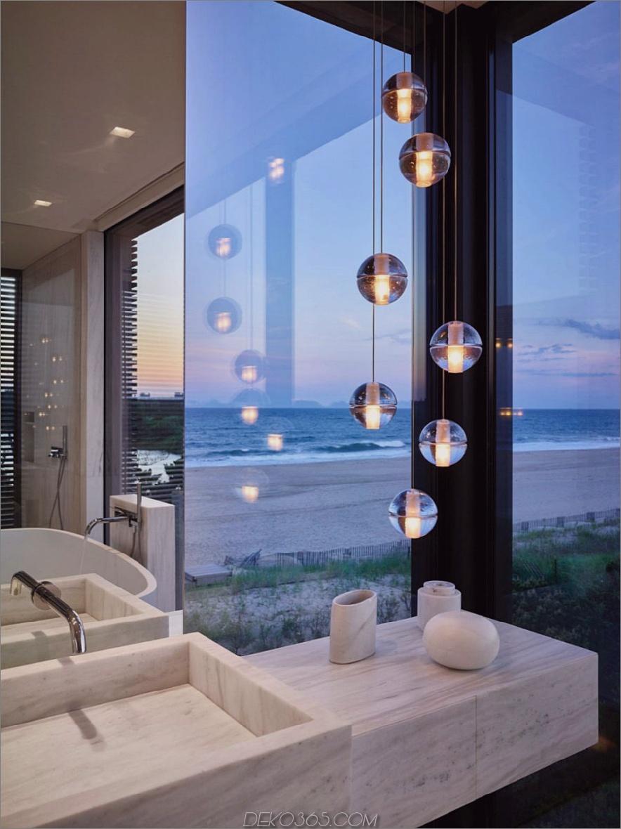 Cluster-Anhänger verleihen dem Badezimmer eine luxuriöse Note