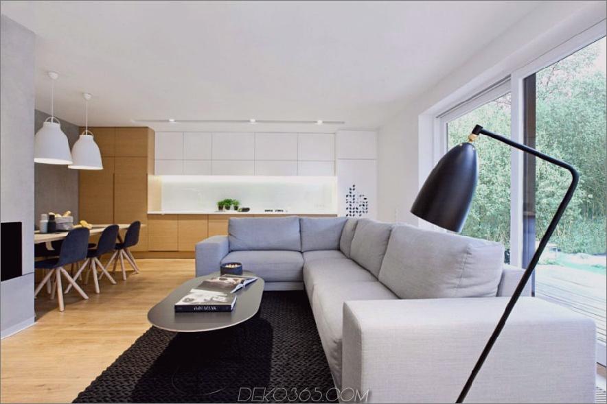 Zeitgenössisches polnisches Zuhause verwendet Textur und Farbe als Akzente_5c58f4cfe5e89.jpg