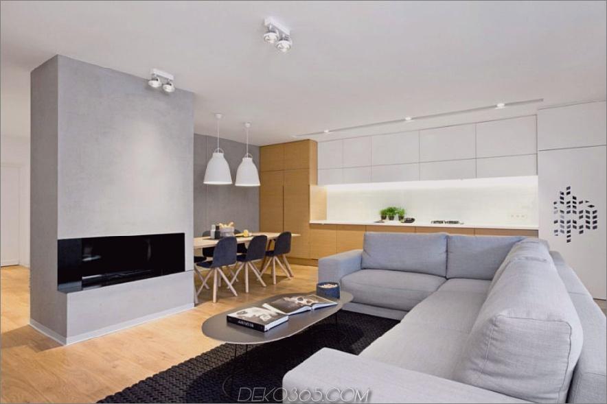 Zeitgenössisches polnisches Zuhause verwendet Textur und Farbe als Akzente_5c58f4d079426.jpg