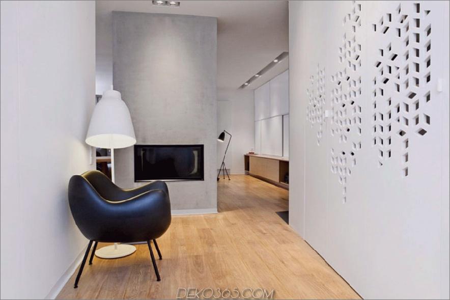 Zeitgenössisches polnisches Zuhause verwendet Textur und Farbe als Akzente_5c58f4d563ec9.jpg