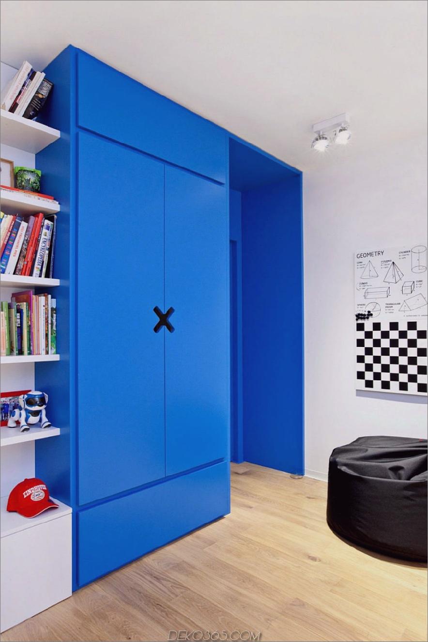 Zeitgenössisches polnisches Zuhause verwendet Textur und Farbe als Akzente_5c58f4dc32e5a.jpg
