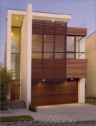1212 Fischerresidenz Zeitgenössisches Wohndesign in Manhattan Beach dreistöckiges Haus mit Aufzug