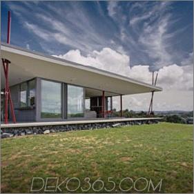 """Das neuseeländische """"Zelthaus"""" bietet einen modernen Urlaubsort"""