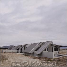 Zelthaus mit Gefrierfach fliegen Dach, Campy Concrete Interiors