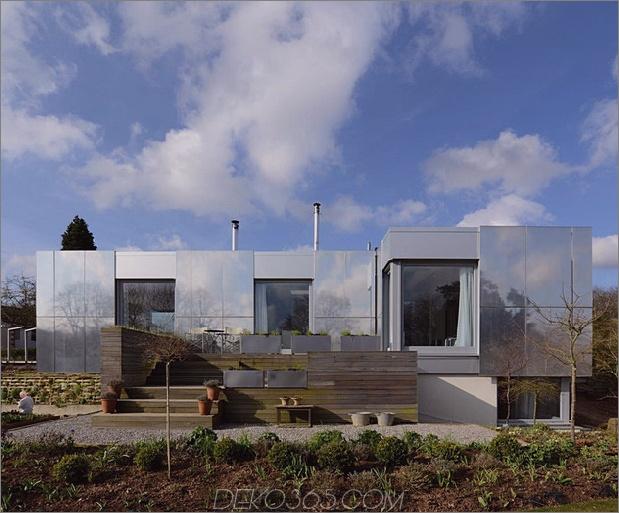 Nachhaltiges Zero-Carbon-Haus mit unsichtbarer reflektierender Außenseite 1 thumb 630x522 31452 Zero-Carbon-Haus mit reflektierenden Schiebeflächen