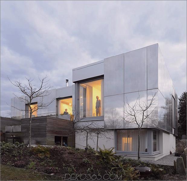 Nachhaltiges Zero-Carbon-Haus mit unsichtbarer, reflektierender Außenseite 2 thumb 630x609 31454 Zero-Carbon-Haus mit reflektierenden Schiebeflächen