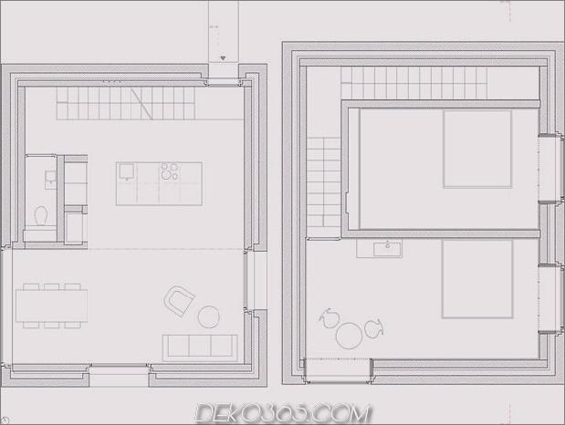 zwei Betonwürfel, bestehend aus Hauptgasthaus-13-plan.jpg