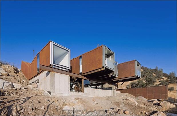 Zwölf Versandcontainer, kombiniert in ein modernes Berghaus-6.jpg