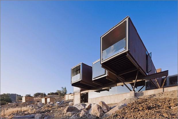 Zwölf Versandcontainer, kombiniert in ein modernes Berghaus-8.jpg